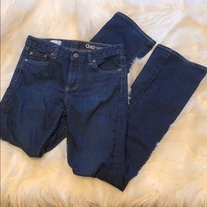 EUC Dark Gap Perfect boot jeans 26R